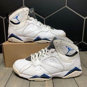 Used Air Jordan 7 DMP White Orlando Shoes Sz 11.5